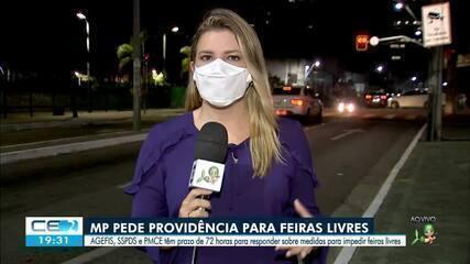 Ministério Público do Ceará pede providência para feiras livres