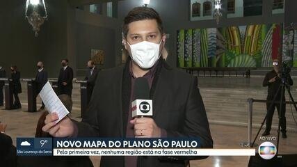 Governador João Doria informa que fez exames e está curado da Covid-19