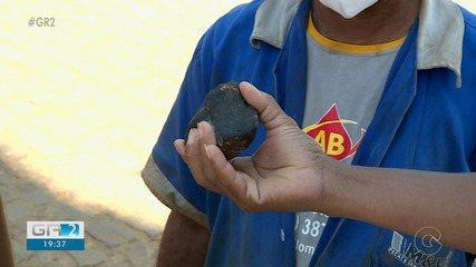 Pedaços de meteorito atingem casas em Santa Filomena no Sertão de Pernambuco