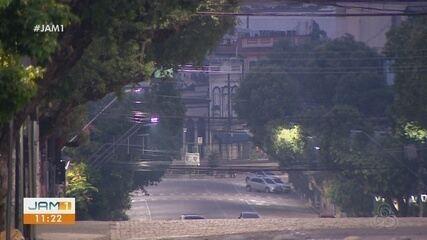 Manaus amanhece com temperatura mais baixa