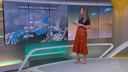 Previsão de chuva e frio no sul e sudeste do Brasil