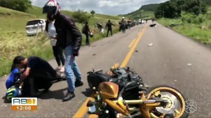 Vereador que atropelou e matou motociclistas em PE é autuado por homicídio culposo