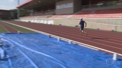 A um ano das Paralimpíadas, atletas tentam dosar desempenho e segurança