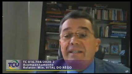 Justiça bloqueia bens do ministro do TCU Vital do Rêgo