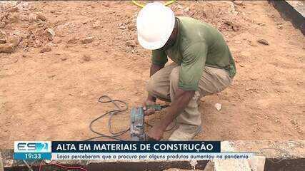 Aumenta procura por materiais de construção durante pandemia