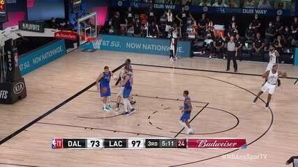 Melhores momentos: Los Angeles Clippers 154 x 111 Dallas Mavericks pela NBA