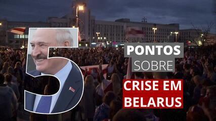 5 pontos para entender a crise em Belarus
