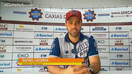 Técnico do Caxias fala sobre a final do Gauchão contra o Grêmio neste domingo (30)