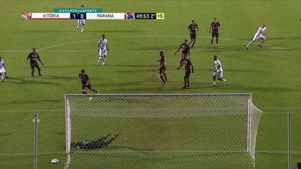 Melhores momentos de Vitória 1 x 0 Paraná pela 6ª rodada da Série B 2020