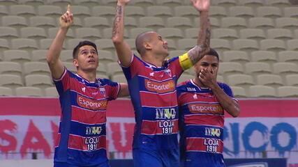 Melhores momentos: Fortaleza 3 x 0 Bragantino, pela 6ª rodada do Brasileirão