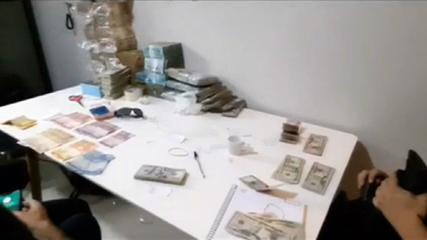 PF apreende dinheiro em espécie em operação contra facções criminosas, em SP