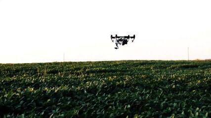 Drones, robôs e máquinas: tecnologia se expande no campo e aumenta a produtividade do agro