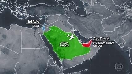 Cia Aérea realiza primeiro voo direto entre Israel e Emirados Árabes Unidos