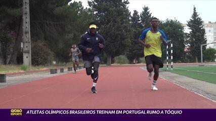 Atletas olímpicos brasileiros treinam em Portugal rumo a Tóquio