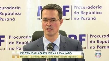 Deltan Dallagnol vai deixar a força-tarefa da Lava Jato