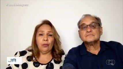 Após 11 dias, João Luiz Máximo, pai do cantor Cauan deixa UTI de hospital, em Goiânia