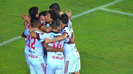 Melhores momentos: Bahia 3 x 5 Flamengo, pela 7ª rodada do Brasileirão