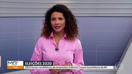 PROS lança candidatura de Fabiano Cazeca à Prefeitura de BH