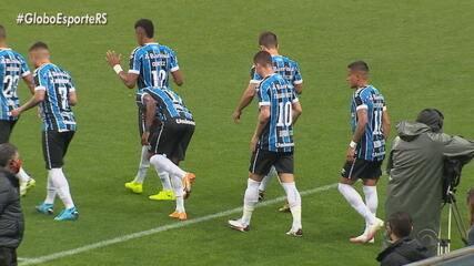 Grêmio desperdiça chances e perde para o Sport na Arena