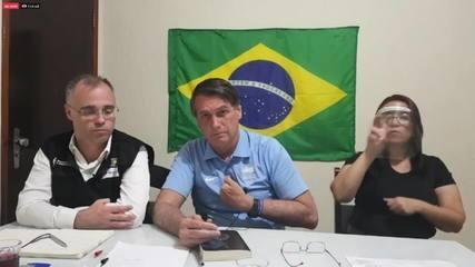 'Quem vai decidir o 5G sou eu', diz Bolsonaro