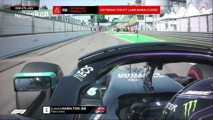 GP da Itália: Hamilton tem punição anunciada