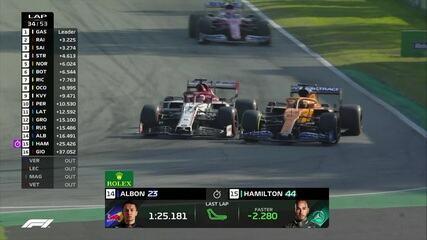 GP da Itália: Sainz ultrapassa Raikkonen