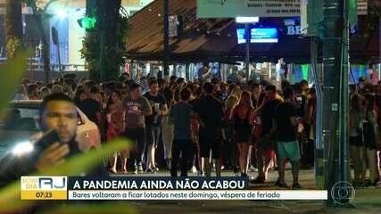 Bares do Rio voltam a ficar lotados no domingo (6)