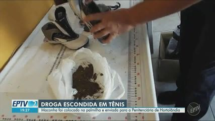 Agentes apreendem maconha escondida em tênis enviado pelos Correios ao CPP de Hortolândia