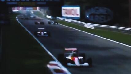 Ayrton Senna e a aposta de Monza, em 1990