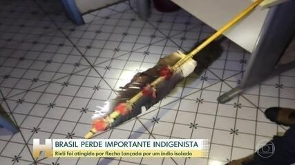 Indigenista morre após levar uma flechada no peito em Rondônia