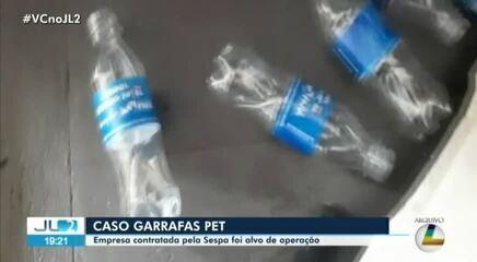 MP investiga organização criminosa na Sespa envolvida na compra de garrafas pet vazias