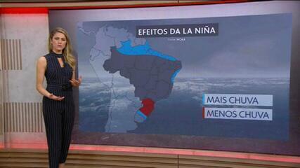 Confirmada a formação do efeito La Niña; entenda a influência na temperatura do Brasil