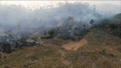 """Mourão sobre queimadas na Amazônia: """"Inpe está se contradizendo"""""""