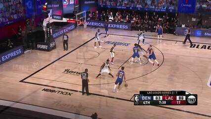 Melhores momentos: Denver Nuggets 111 x 105 Los Angeles Clippers pela NBA