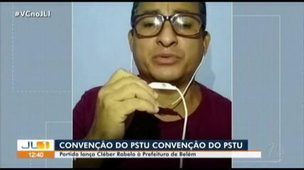 PSTU lança Cléber Rabelo candidato à Prefeitura de Belém