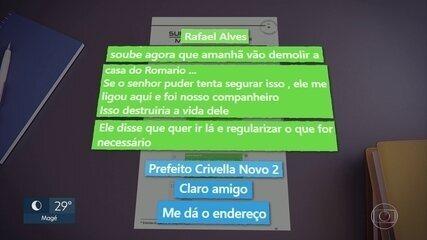 MP diz que Rafael Alves pediu à prefeitura do Rio para não demolir casa de Romário