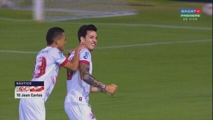 Assista aos melhores momentos da vitória do Náutico sobre o Botafogo-SP