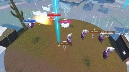 Com jogador solo no mapa, GOD faz seu primeiro booyah na LBFF