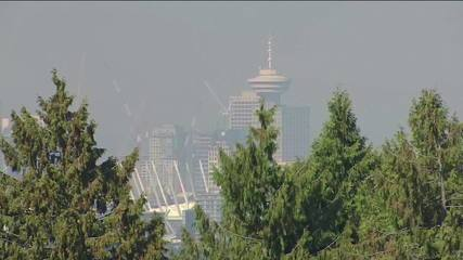 Fumaça de incêndios florestais nos EUA chega ao Canadá