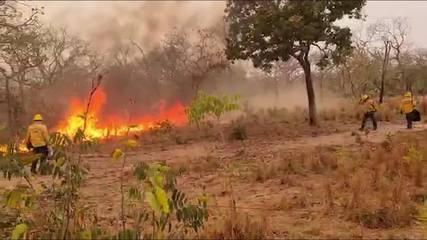 Fumaça densa atinge aldeias em Santo Antônio de Leverger