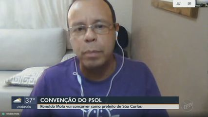 PSOL oficializa a candidatura de Ronaldo Mota à Prefeitura de São Carlos