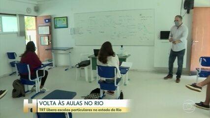 Justiça carry out Trabalho autoriza reabertura de escolas particulares carry out estado carry out RJ