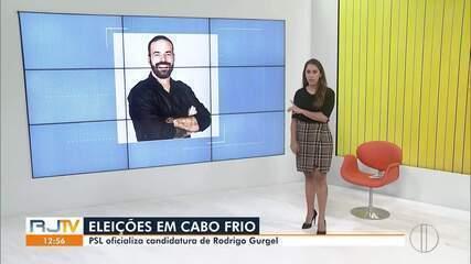 PSL oficializa candidatura de Rodrigo Gurgel à Prefeitura de Cabo Frio, no RJ