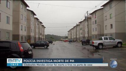 Suspeitos de atirar em PM morto na porta de casa são presos em Porto Seguro, sul da Bahia