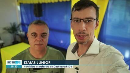 PSDB oficializa a candidatura de Izaias Júnior à Prefeitura de Cachoeiro de Itapemirim