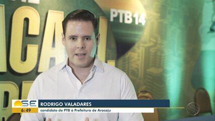 PTB formaliza candidatura de Rodrigo Valadares à Prefeitura de Aracaju