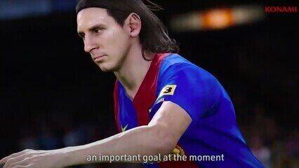 Trailer emocionante de lançamento do PES 2021 sobre a vida de Messi