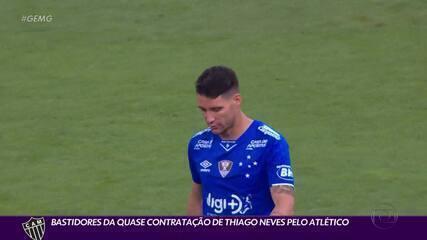 Repórter do ge traz os bastidores da negociação Thiago Neves e Atlético