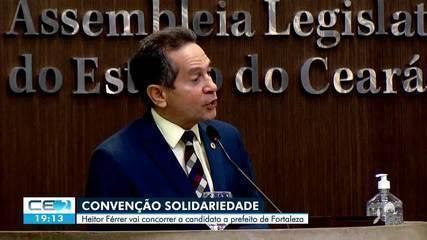 Partido Solidariedade oficializa candidatura do deputado estadual Heitor Férrer