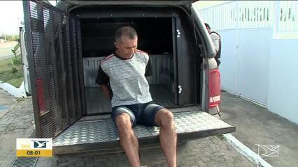 Preso acusado de vários estupros na área do Itapiracó, em São Luís